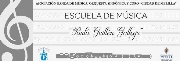 Nuestra Escuela de Música llevará el nombre de Paula Guillén Gallego